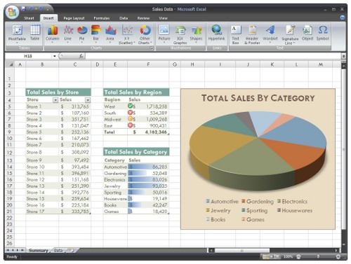 Microsoft Excel 2007 online training courses